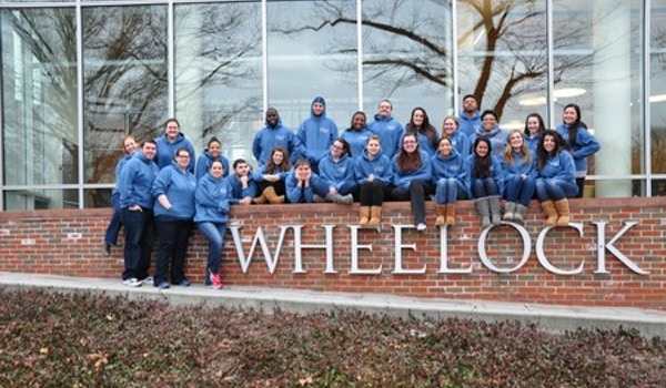 It's 10 Degrees Out But Our Custom Ink Sweatshirts Kept Us Warm! T-Shirt Photo