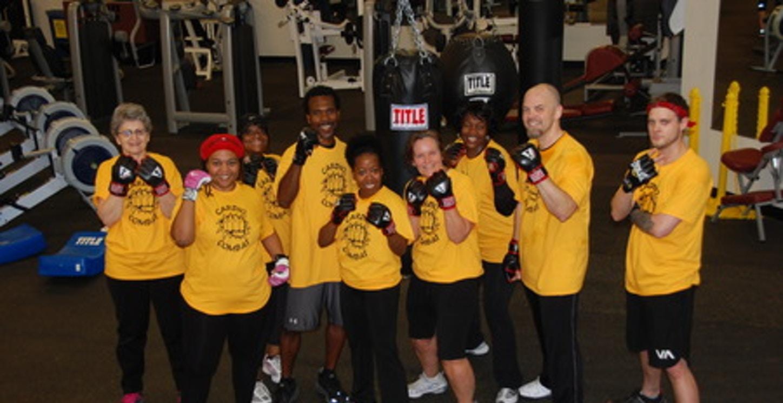 Cardio Combat Crew @ Waldorf Fitness Center T-Shirt Photo