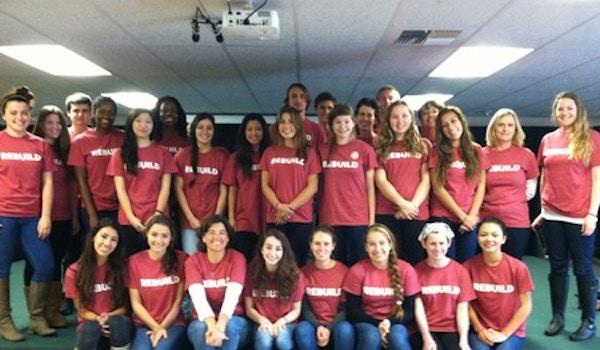 West Coast Kids Fundraising For Hurricane Sandy T-Shirt Photo