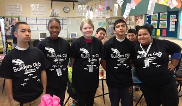 Showing Off Our New Club T Shirts! T-Shirt Photo