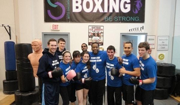 The Penn Law Boxing Club T-Shirt Photo