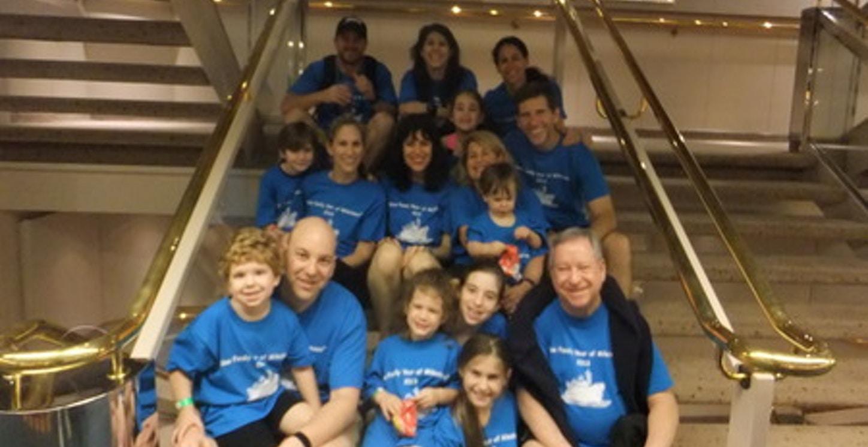 Kline Family Milestone Cruise 2013 T-Shirt Photo