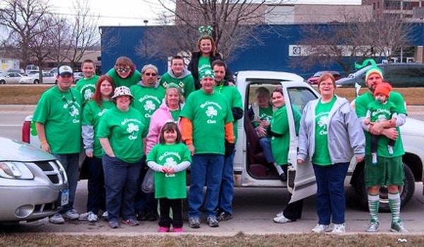 Mc Clanahan Clan St. Patrick's Day 2013 T-Shirt Photo