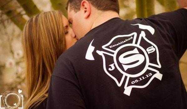 Engagement Photo <3 T-Shirt Photo