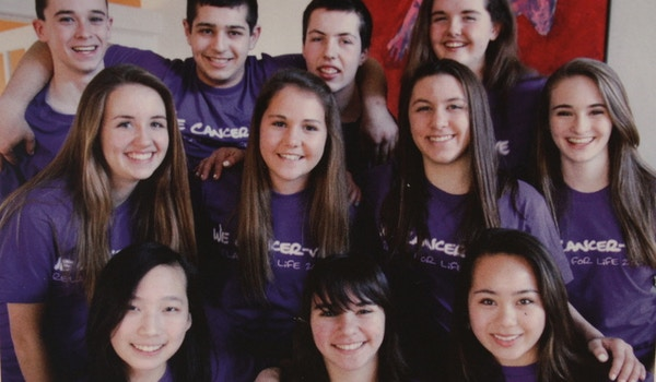 Relay For Life Youth Team T-Shirt Photo