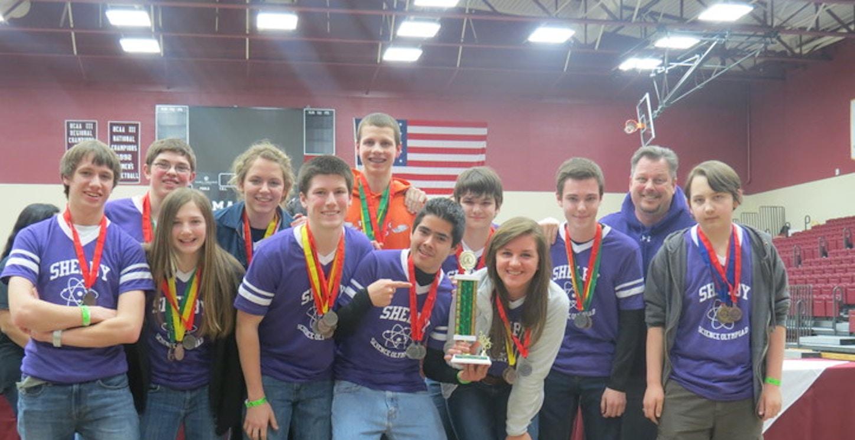 Shelby High School Science Olympiad Team T-Shirt Photo