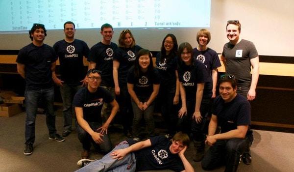 Code Psu With Capital One T-Shirt Photo