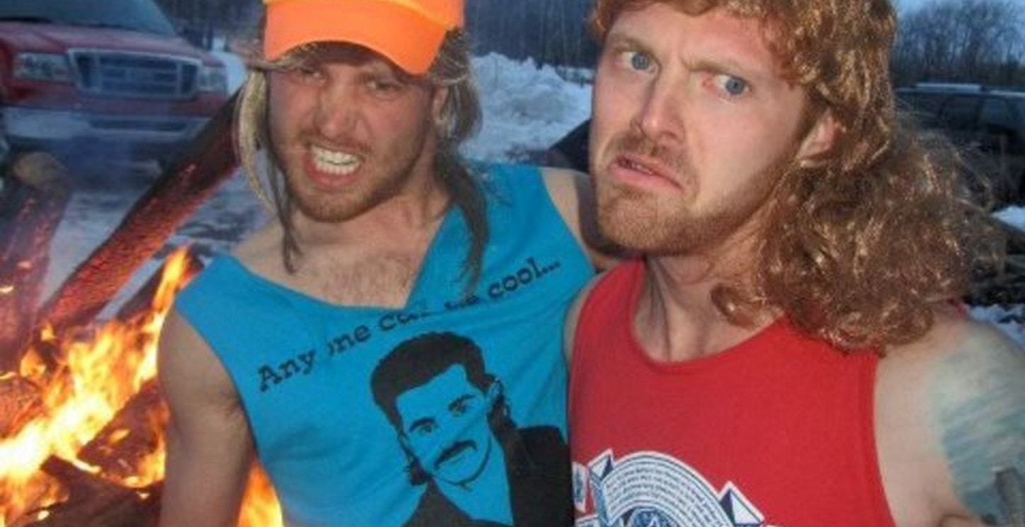 Respect The Mullet.  T-Shirt Photo