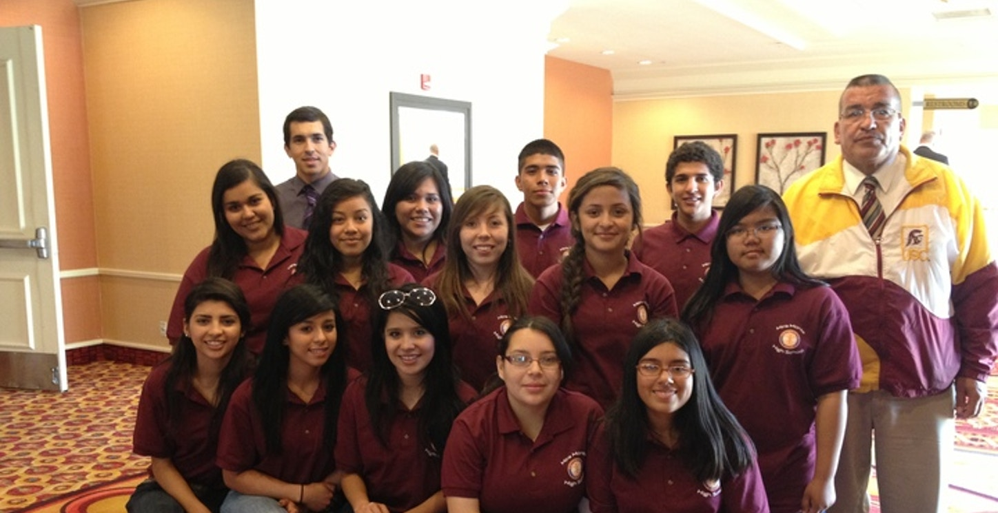 Proud Interact Students At Rotary All Club Luncheon T-Shirt Photo