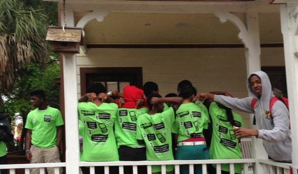 Nefl Teens In St. Augustine T-Shirt Photo