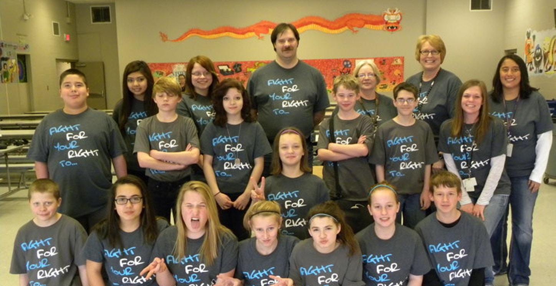 West Middle School 7th Grade G2 Diabetes Awareness  T-Shirt Photo