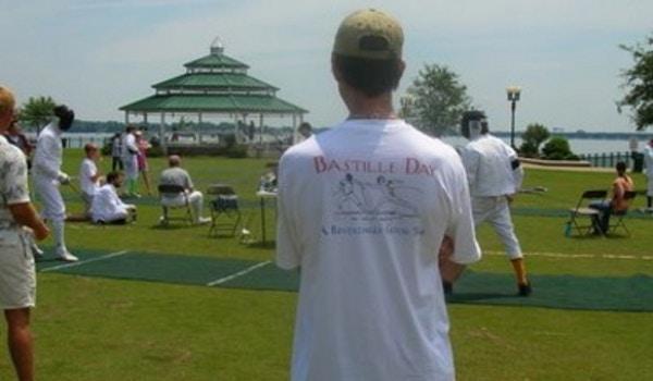 Bastille Day   New Bern, North Carolina T-Shirt Photo