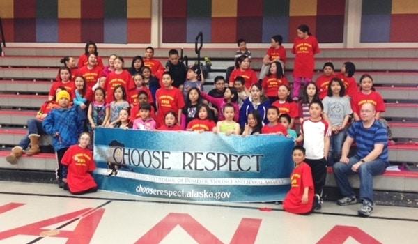 "Kiana ""I Choose Respect""  T-Shirt Photo"