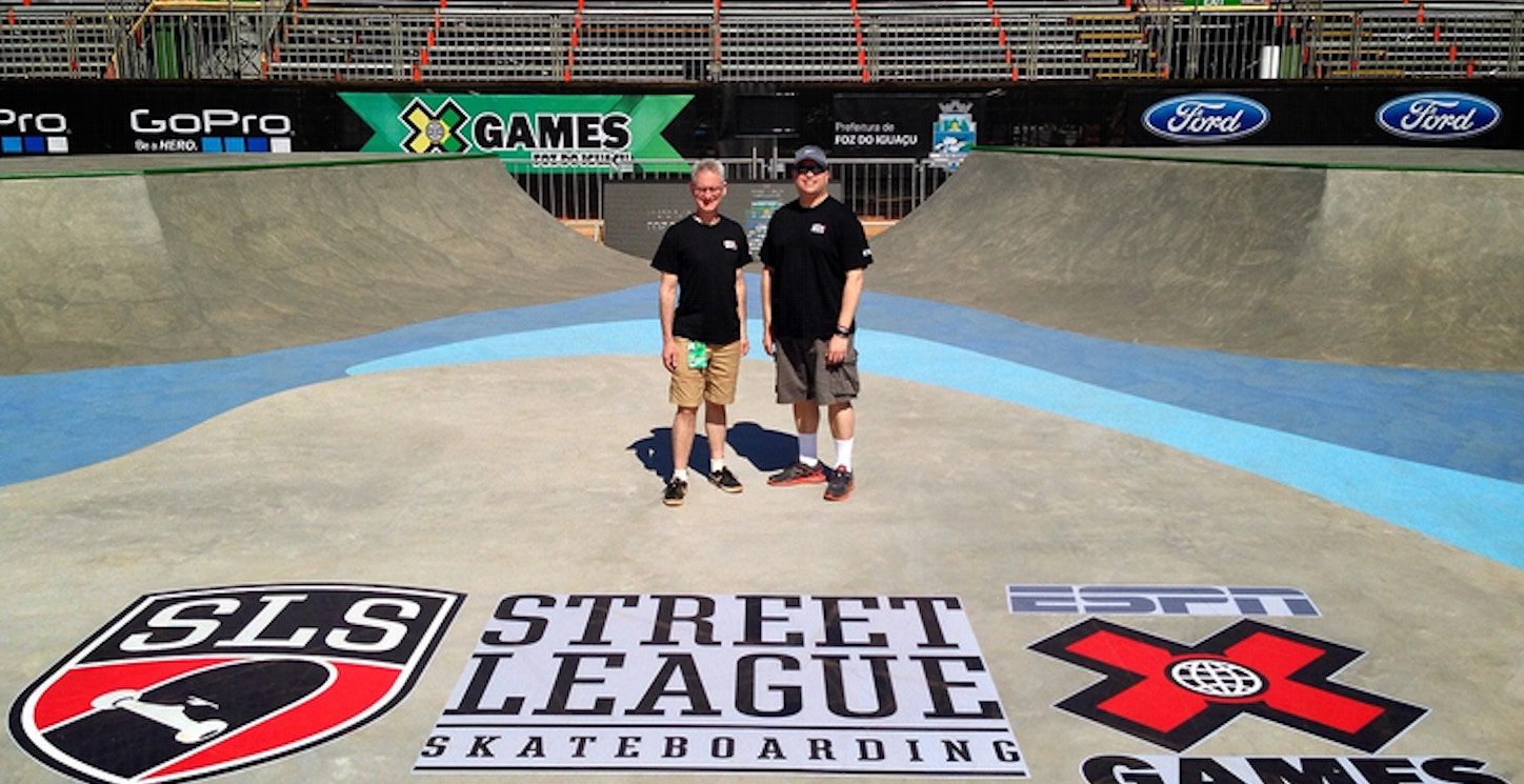 Showing Off Our Custom Ink Printed Tees At X Games Brazil! T-Shirt Photo
