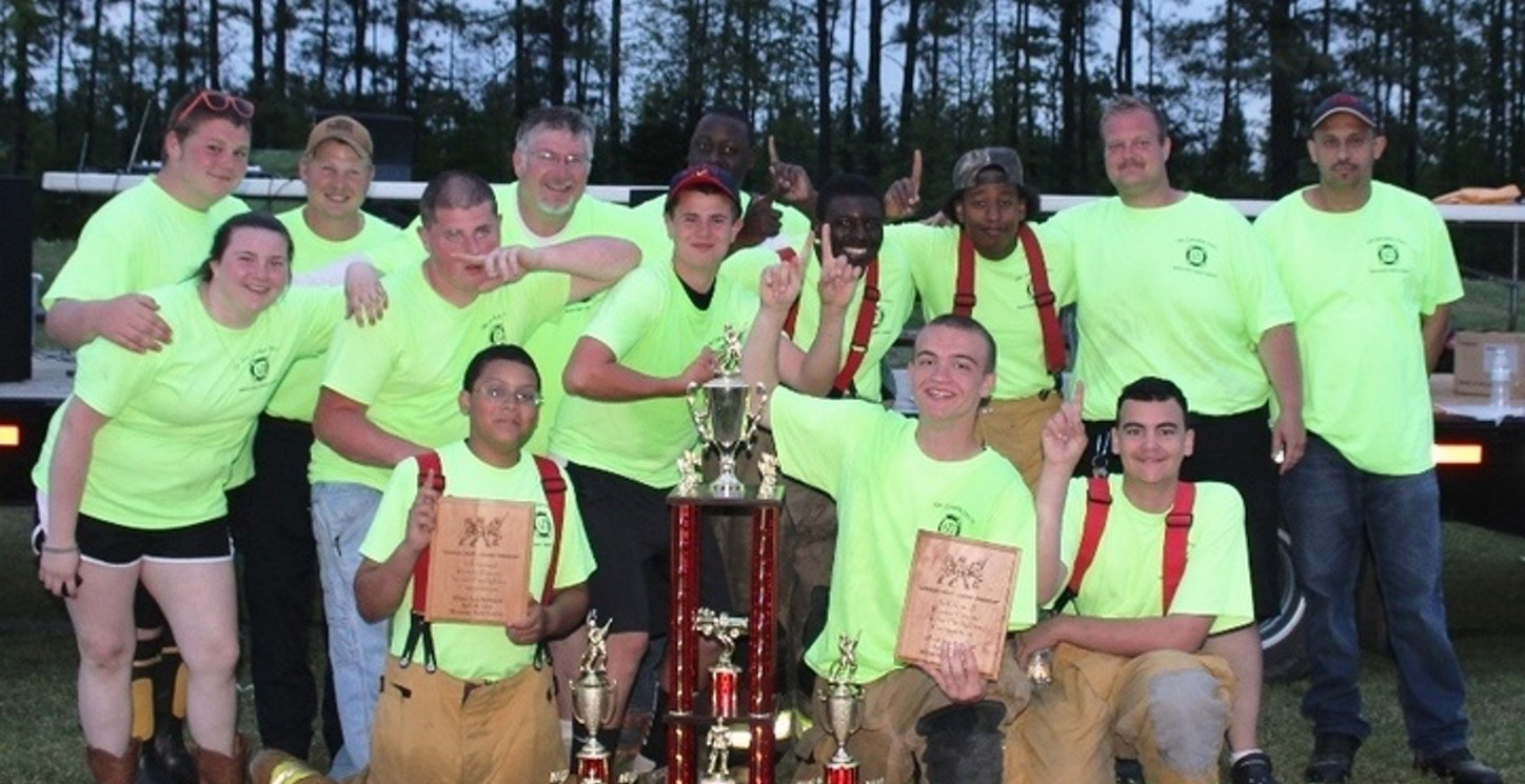 Champions Of The Warren County Junior Firefighter Competition T-Shirt Photo