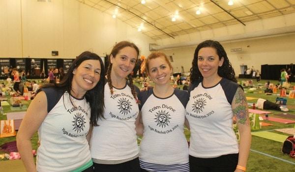 Team Divine Supports Yoga Reaches Out T-Shirt Photo