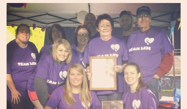 Team Lem At Relay For Life Olentangy  T-Shirt Photo