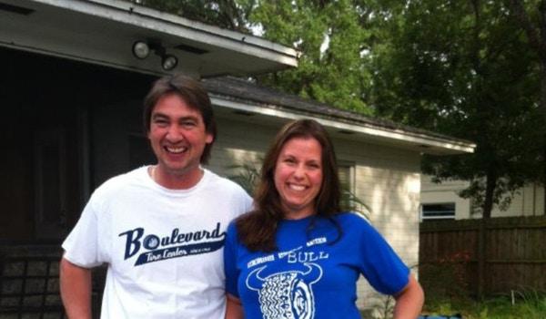Grabbin' That Boulevard Bull By The Horns! T-Shirt Photo