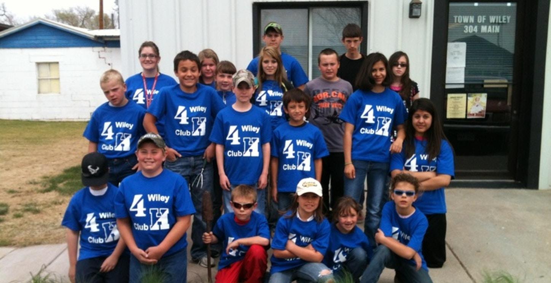 Wiley 4 H Club T-Shirt Photo