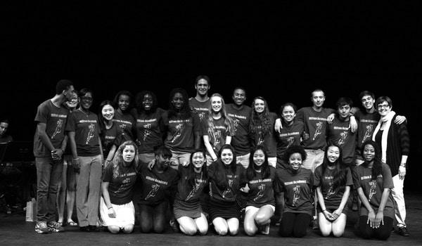 Milton Academy Gospel Choir 2013 T-Shirt Photo