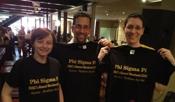 Phi Sigma Pi Dvac T-Shirt Photo
