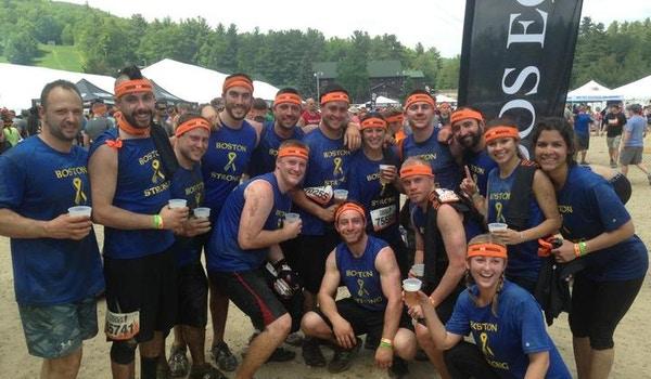 Team City Of Champions   Tough Mudder Boston 2013 T-Shirt Photo