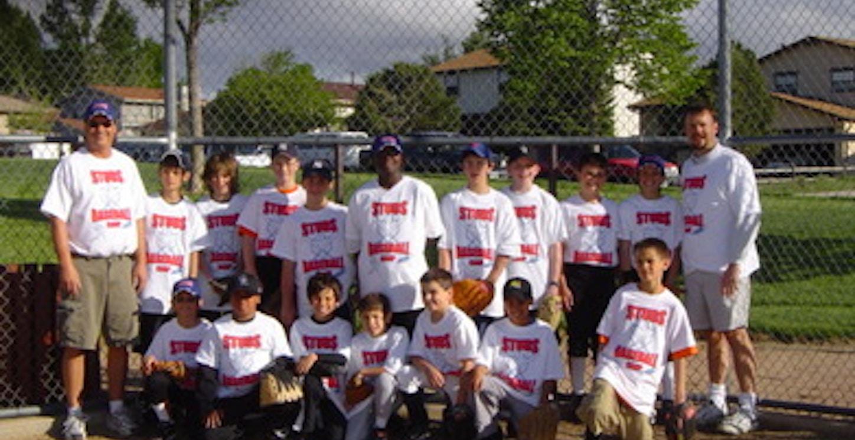 Studs Baseball Rocks T-Shirt Photo