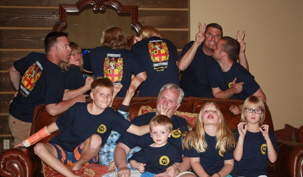 Dad's 70th Birthday Celebration T-Shirt Photo