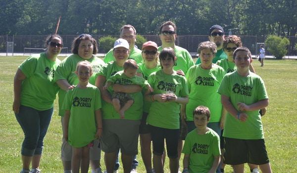 Our 1st Hemophilia Walk T-Shirt Photo