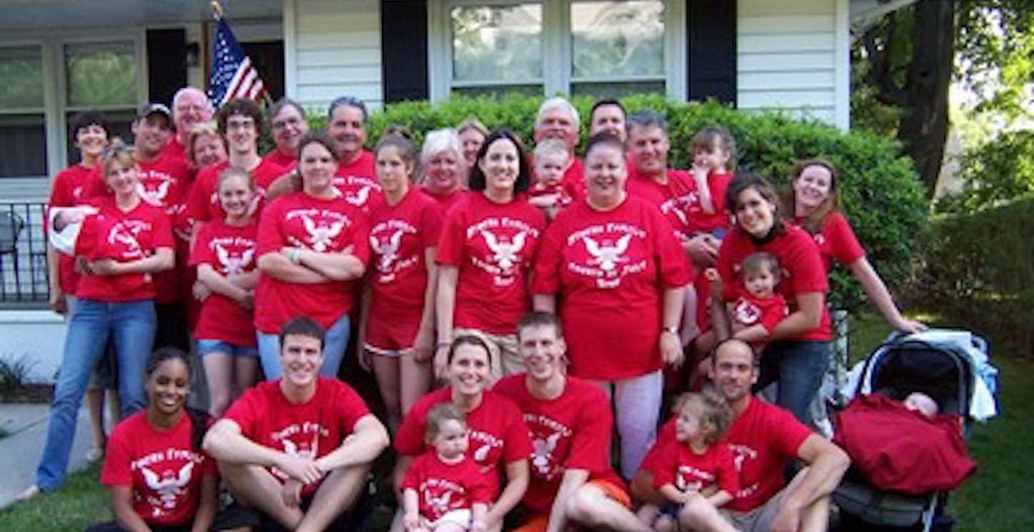 4th Of July Family Reunion T-Shirt Photo