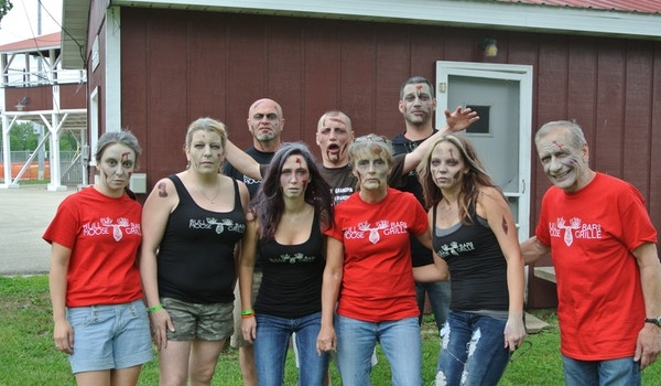 The Zombies Are Coming!!! T-Shirt Photo
