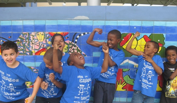 """First Graders """"Born To Change The World!"""" T-Shirt Photo"""