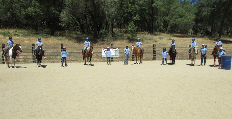 Summer Horsemanship Camp T-Shirt Photo