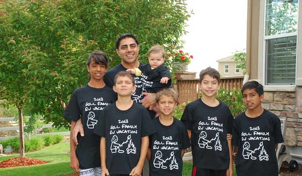 Gill Family Rv Vacation T-Shirt Photo