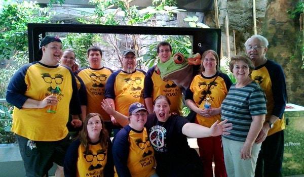 Yoak Family @ Cleveland Zoo T-Shirt Photo