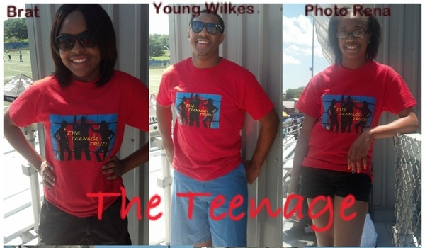 The Positive Voices For The Voiceless Teens T-Shirt Photo
