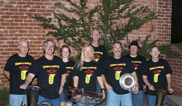 Members Of Tuba Force T-Shirt Photo