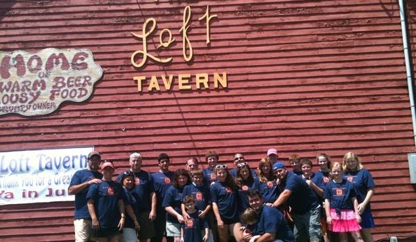 Cotter Family Reunion   Okemo Mtn 2013 T-Shirt Photo