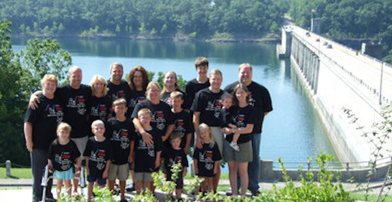 Bull Shoals Dam, Ar Best Dam Reunion! T-Shirt Photo