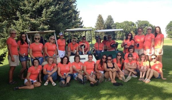 Dirty Birdies Ladies Golf League T-Shirt Photo