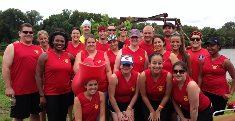 Dragon Boat Team T-Shirt Photo