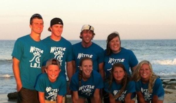 Wittle Family Cousins, Long Beach Island, Nj    2013 T-Shirt Photo