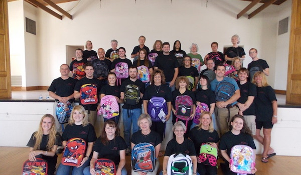 Operation Backpack With Kafoury, Armstrong & Co. T-Shirt Photo