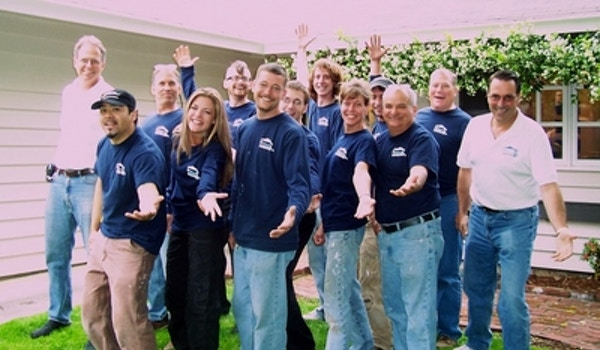 The In Your Home Team Before A Day At Work. T-Shirt Photo