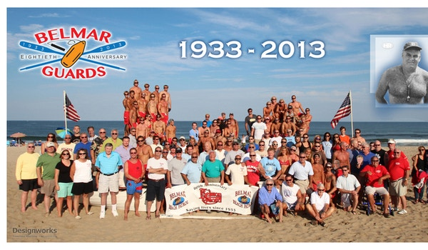 Belmar Guards Jersey Shore 80 Anniversary T-Shirt Photo