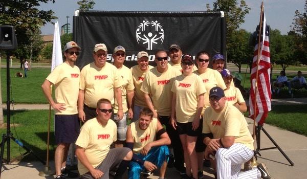 Colorado Special Olymipcs  Pmp Softball T-Shirt Photo
