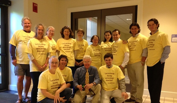 Celebrating Jim's 40 Years At Connecticut College!! T-Shirt Photo