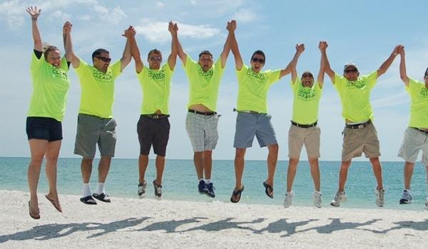 Keeping Our Coast Clean! T-Shirt Photo