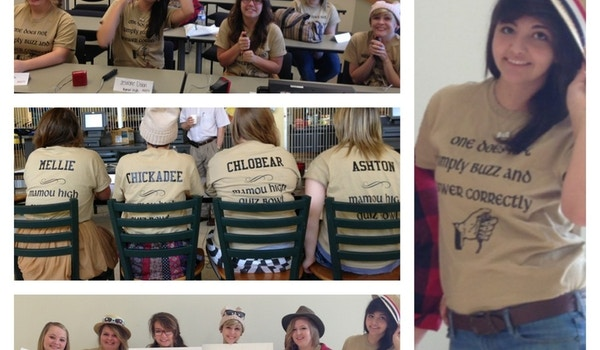 Mhs Quiz Bowl Team T-Shirt Photo