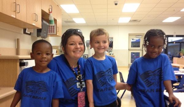 Teame Beale Military Children Unite! T-Shirt Photo